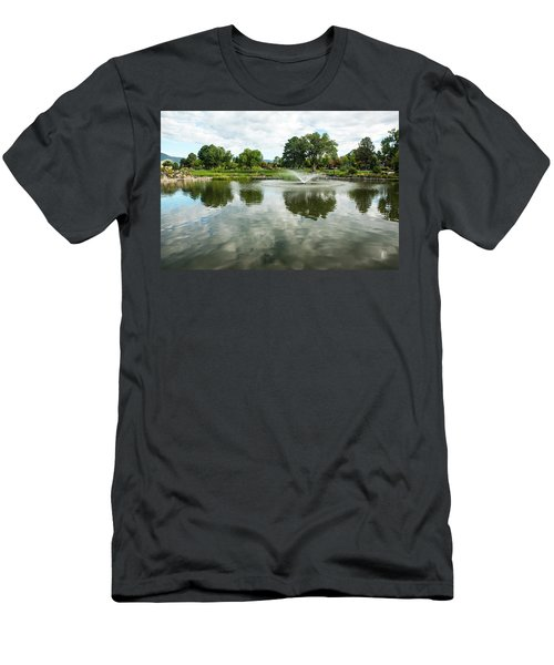 Clouds On Ashley Pond Men's T-Shirt (Athletic Fit)