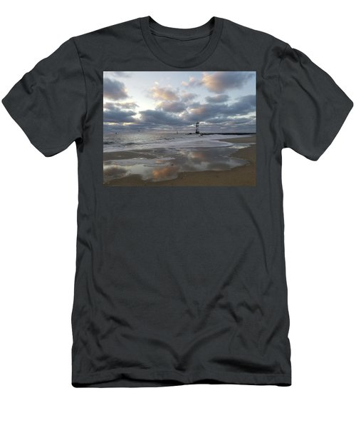 Cloud's Reflections At The Inlet Men's T-Shirt (Athletic Fit)