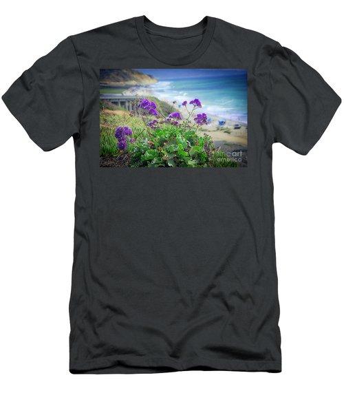 Coastline Color Men's T-Shirt (Athletic Fit)