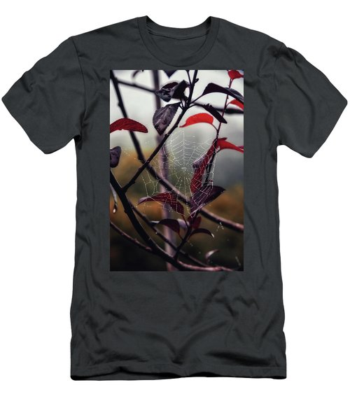 Cobweb Men's T-Shirt (Athletic Fit)