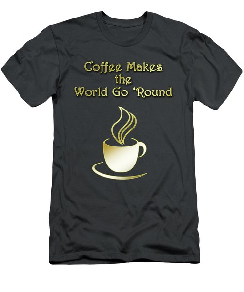Coffee Aroma Men's T-Shirt (Athletic Fit)