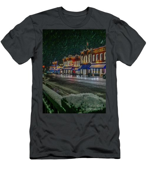 Cold Night In Cripple Creek Men's T-Shirt (Athletic Fit)