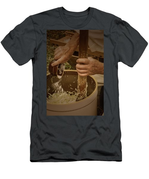 Men's T-Shirt (Athletic Fit) featuring the photograph Coleslaw Maker by Guy Whiteley