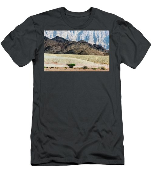 Color Layers In The Desert Men's T-Shirt (Athletic Fit)