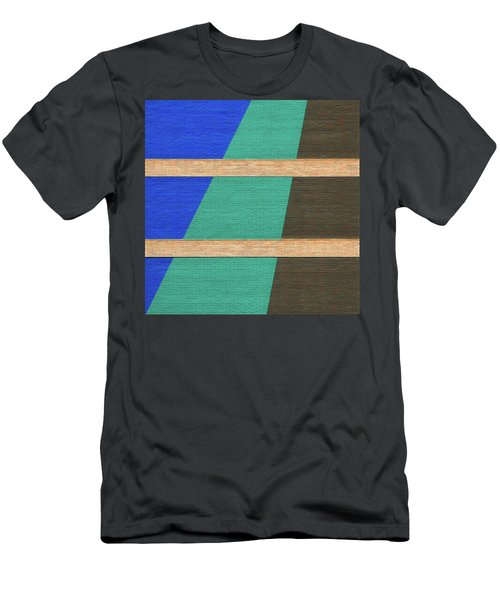 Colorado Abstract Men's T-Shirt (Athletic Fit)