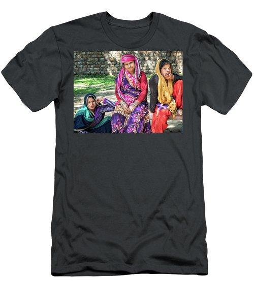 Colorful Ladies Men's T-Shirt (Athletic Fit)