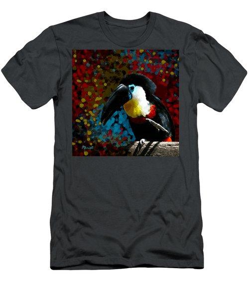 Colorful Toucan Men's T-Shirt (Athletic Fit)