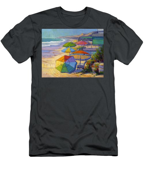Colors Of Crystal Cove Men's T-Shirt (Athletic Fit)
