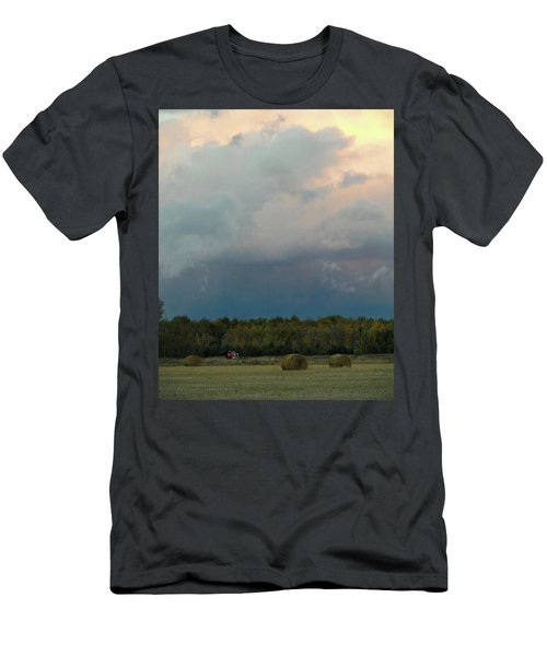 Colossak Country Clouds Men's T-Shirt (Athletic Fit)