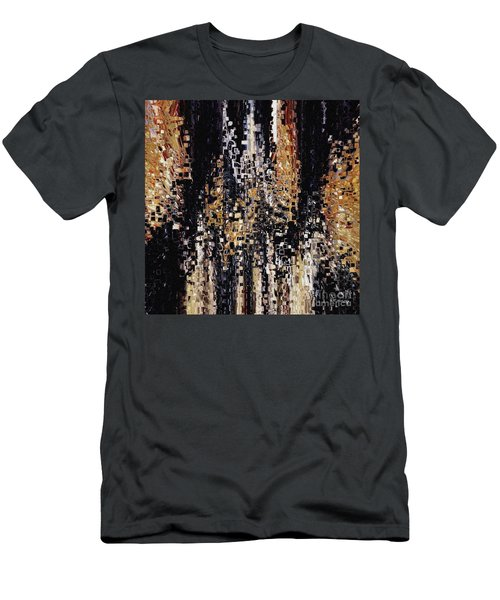 Men's T-Shirt (Athletic Fit) featuring the painting Colossians 1 16. Your Creator by Mark Lawrence