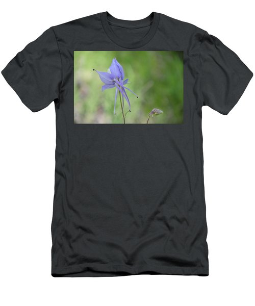 Columbine Details Men's T-Shirt (Athletic Fit)