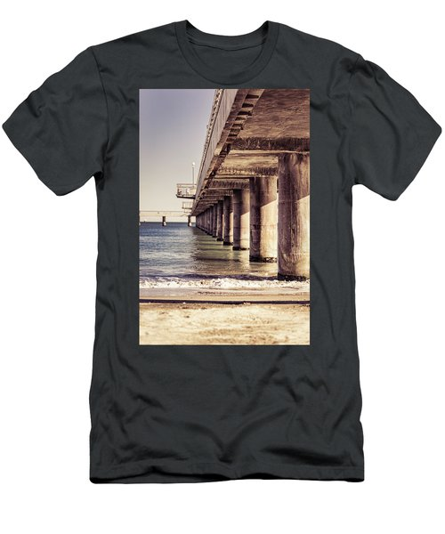 Columns Of Pier In Burgas Men's T-Shirt (Athletic Fit)