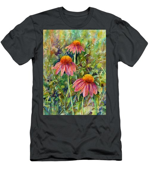 Coneflower Trio Men's T-Shirt (Athletic Fit)