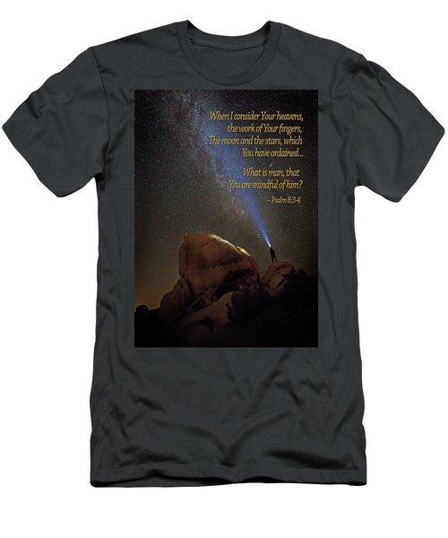 Consider The Heavens Men's T-Shirt (Athletic Fit)