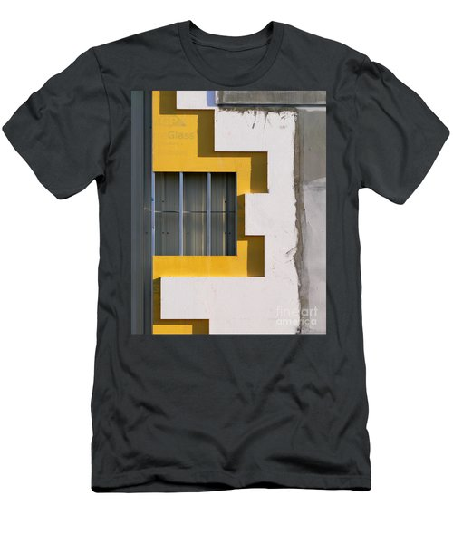 Construction Abstract Men's T-Shirt (Athletic Fit)