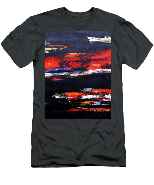 Men's T-Shirt (Athletic Fit) featuring the painting Cool Breeze  by Arttantra