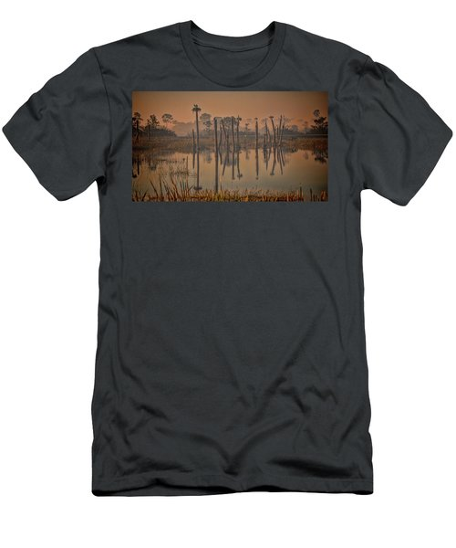 Cool Day At Viera Wetlands Men's T-Shirt (Athletic Fit)