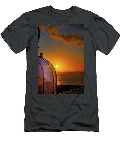 Copper Sunset Men's T-Shirt (Athletic Fit)