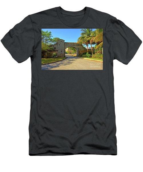 Coral Gables, Alhambra Entrance, South Miami, Florida Men's T-Shirt (Athletic Fit)