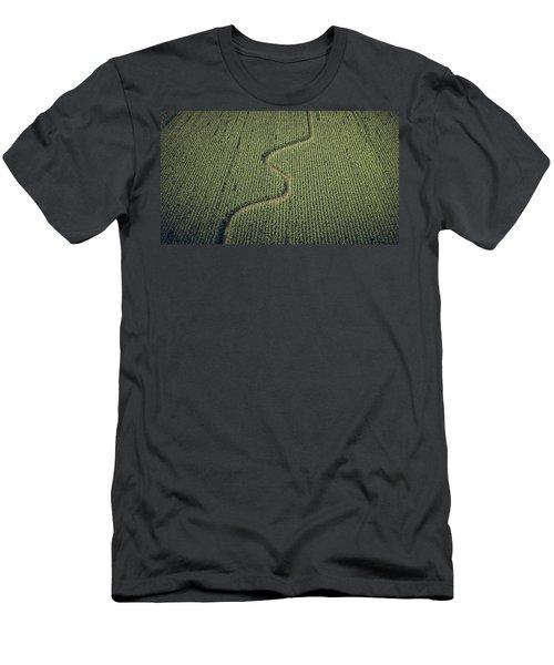 Corn Field Men's T-Shirt (Athletic Fit)