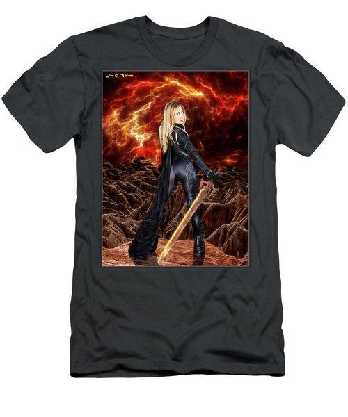 Cosmic Destroyer Men's T-Shirt (Athletic Fit)
