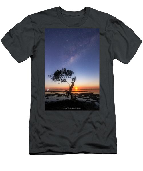 Cosmic Tree Men's T-Shirt (Athletic Fit)