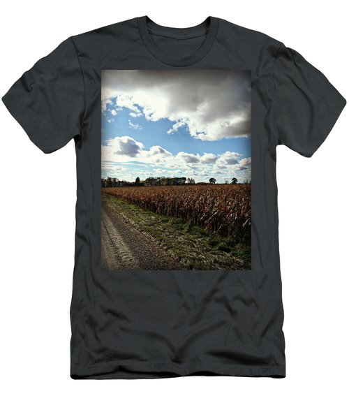 Country Autumn Curves 2 Men's T-Shirt (Athletic Fit)