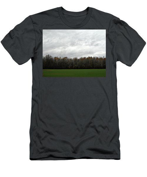 Country Autumn Drive Men's T-Shirt (Athletic Fit)