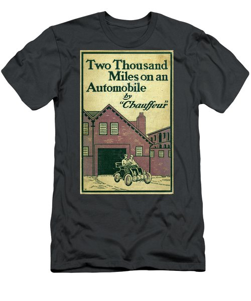 Cover Design For Two Thousand Miles On An Automobile Men's T-Shirt (Athletic Fit)