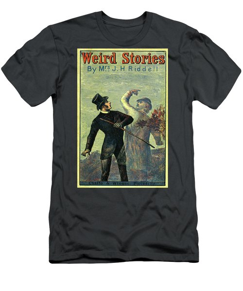 Victorian Yellowback Cover For Weird Stories Men's T-Shirt (Athletic Fit)