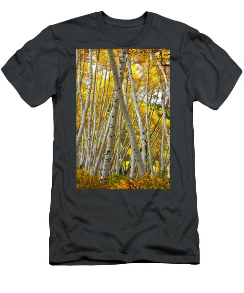 Crossed Aspens Men's T-Shirt (Athletic Fit)