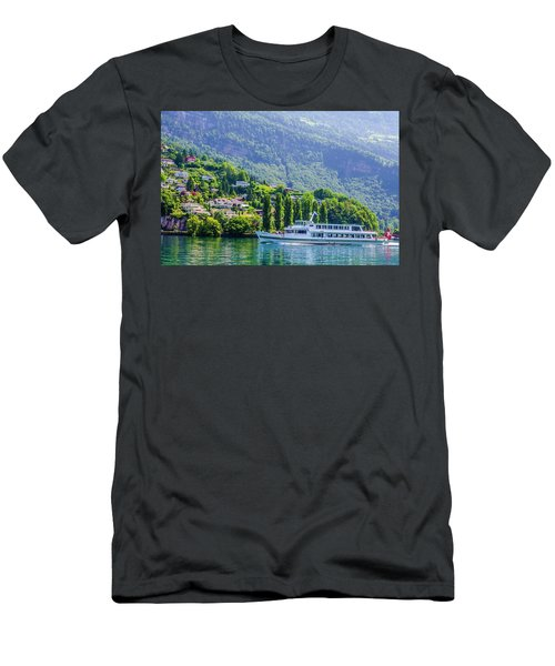 Cruising Lake Lucerne Men's T-Shirt (Athletic Fit)