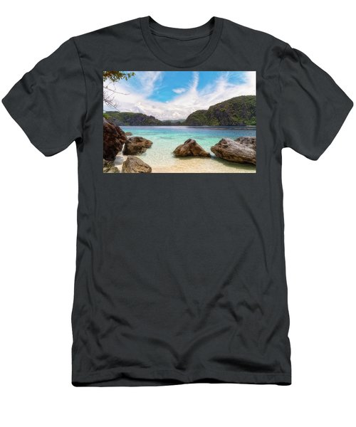 Crystal Clear Men's T-Shirt (Athletic Fit)