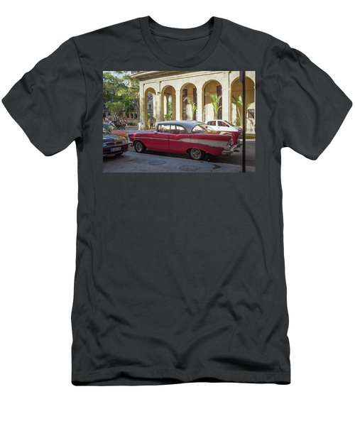 Cuban Chevy Bel Air Men's T-Shirt (Athletic Fit)