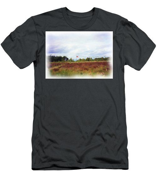 Culloden Battlefield Painting Men's T-Shirt (Athletic Fit)