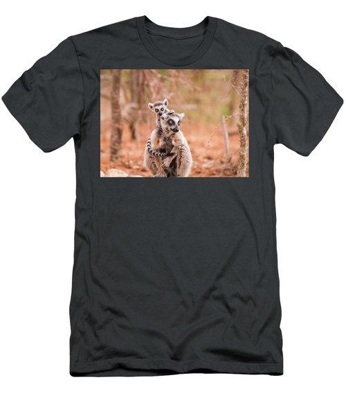 Men's T-Shirt (Athletic Fit) featuring the photograph Curiosity by Alex Lapidus