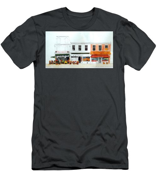 Cutrona's Market On King St. Men's T-Shirt (Athletic Fit)