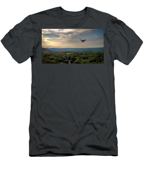 D R O N E  Men's T-Shirt (Athletic Fit)
