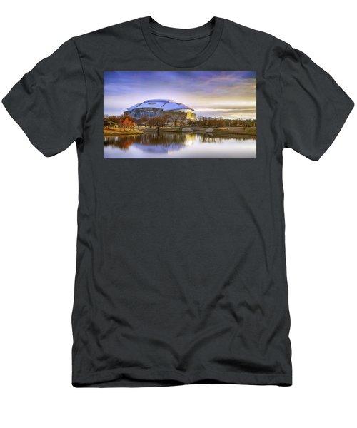 Dallas Cowboys Stadium Arlington Texas Men's T-Shirt (Athletic Fit)
