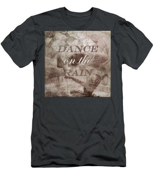 Dance On The Rain In Sepia Tones Men's T-Shirt (Athletic Fit)