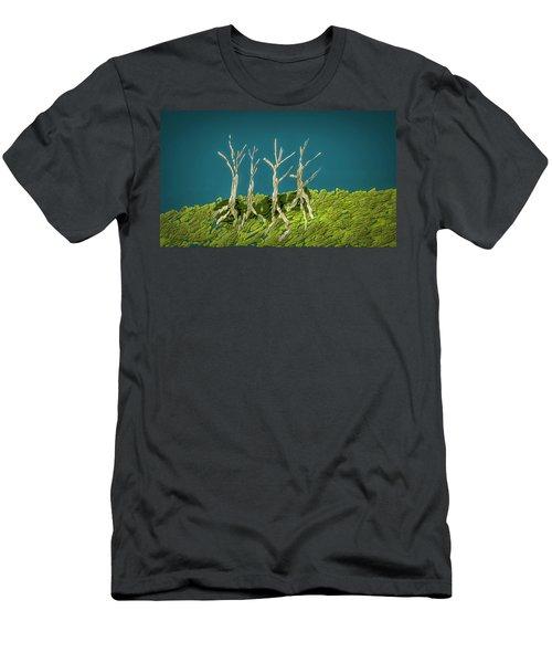 Dancing #i3 Men's T-Shirt (Athletic Fit)