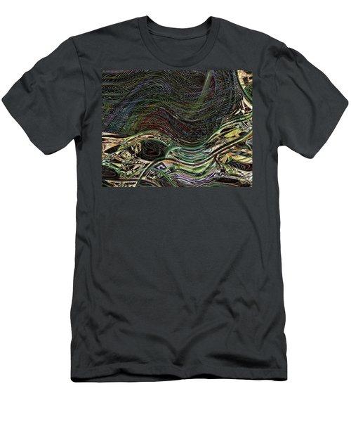 Dark Rainbow Men's T-Shirt (Athletic Fit)