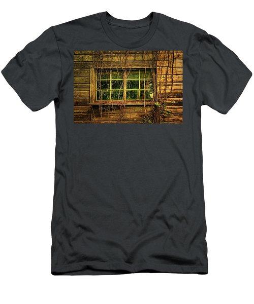 Dark Window Men's T-Shirt (Athletic Fit)