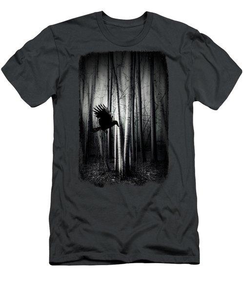 Darker - Raven Men's T-Shirt (Athletic Fit)