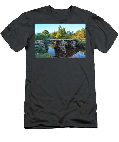 Dartmoor Clapper Bridge Men's T-Shirt (Athletic Fit)