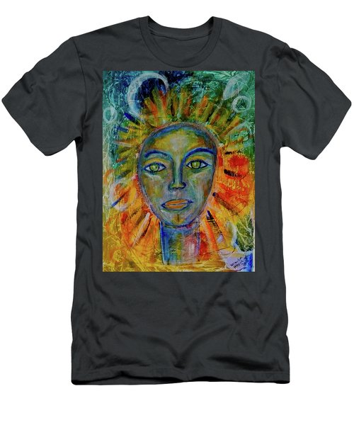 Daughter Of The Sun And Moon Men's T-Shirt (Athletic Fit)