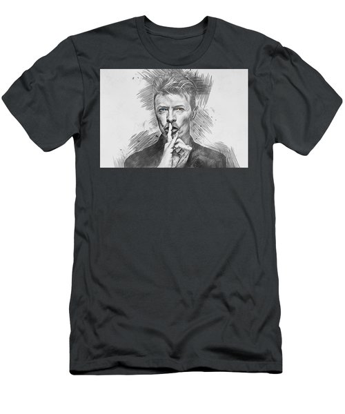 David Bowie. Men's T-Shirt (Athletic Fit)