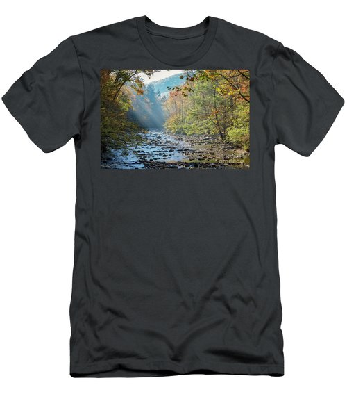 Dawn At Metcalf Bottoms Men's T-Shirt (Athletic Fit)