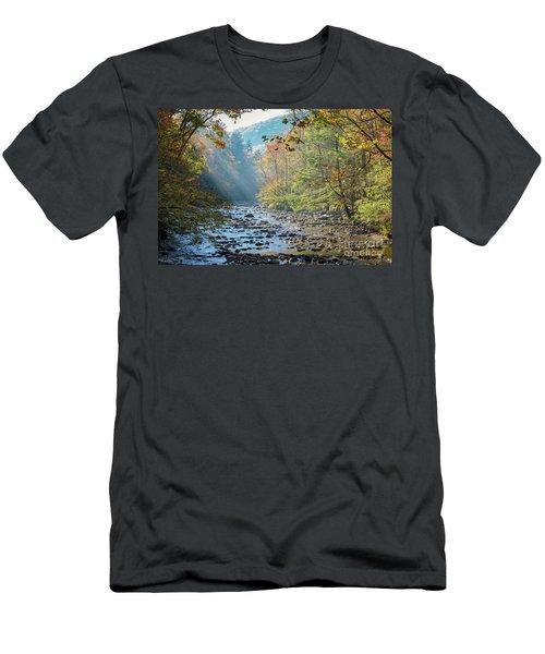 Dawn At Metcalf Bottoms Men's T-Shirt (Athletic Fit)