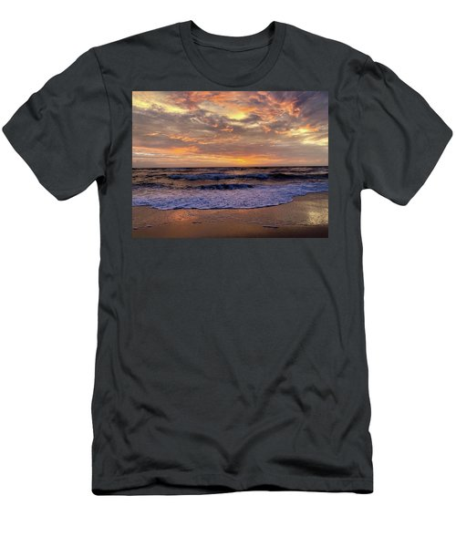 Men's T-Shirt (Athletic Fit) featuring the photograph Day After Storm 9/16/18 by Barbara Ann Bell